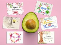 cartes messages fleuristes8