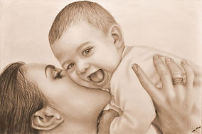 mother-child-paintings-drawings-mother-a