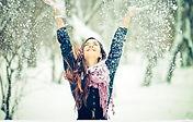 Happy-girl-snow-winter-wallpaper-620x394