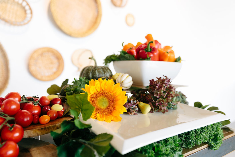 Home Page Photo, Flowers and Veggie Arrangements, DEP Creative LLC