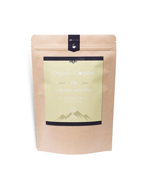 Creamy Oolong Tea