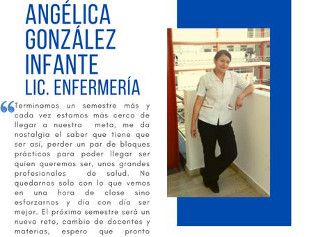 Testimonio fin de semestre dic2020:  Angélica González Infante