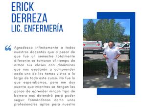 Testimonio fin de semestre dic2020: Erick Rafael Derreza Martínez