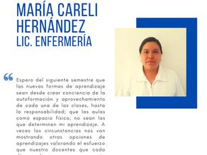 Testimonio fin de semestre dic2020: María Careli Hernández Hernández