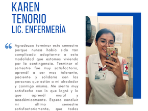 Testimonio fin de semestre dic2020: Karen Tenorio
