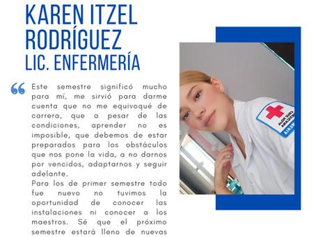 Testimonio fin de semestre dic2020: Karen Itzel Rodríguez