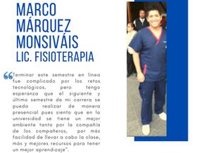 Testimonio fin de semestre dic2020: Marco Márquez Monsiváis
