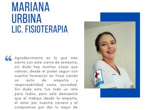 Testimonio fin de semestre dic2020: Mariana Urbina Castro