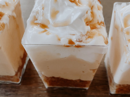 Dulce De Leche Cheesecake Cups