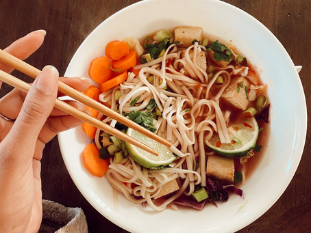 Vegan Pho-Inspired Soup