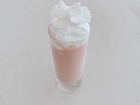 Cardamom Rose Dessert Shots
