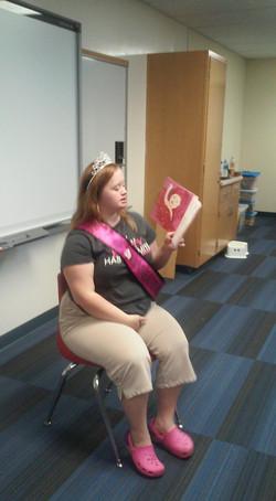 Reading I am Princess Katlyn