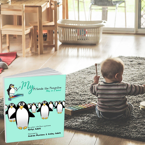 My Friends the Penguins: play in a band by Katlyn Aubitz