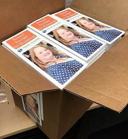 Katlyn on Brochure