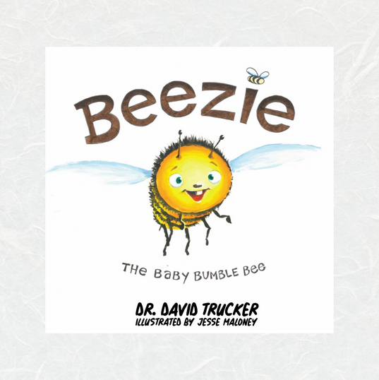 Beezie The Baby Bumble Bee by David Trucker