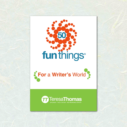 50 Fun Things ® For a Writer's World by Teresa Thomas