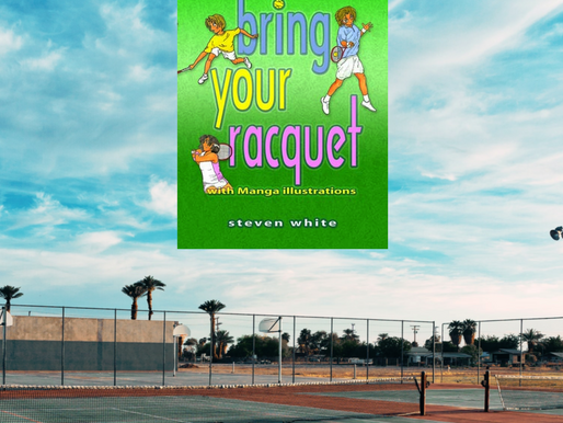 KIRK HOUSE PUBLISHERS—IN THE AUTHOR'S CORNER Steven White author of  Bring Your Racquet