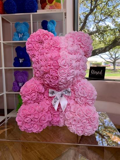 Pinky Rose Teddy Bear