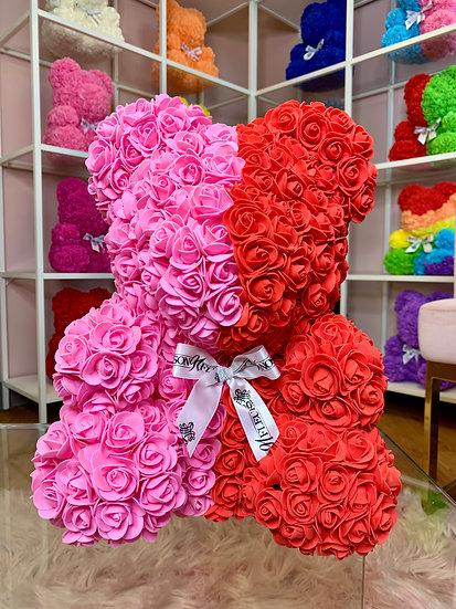 VDAY Rose Teddy Bear