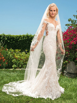 ALL LACE WITH ILLUSION NECKLINE
