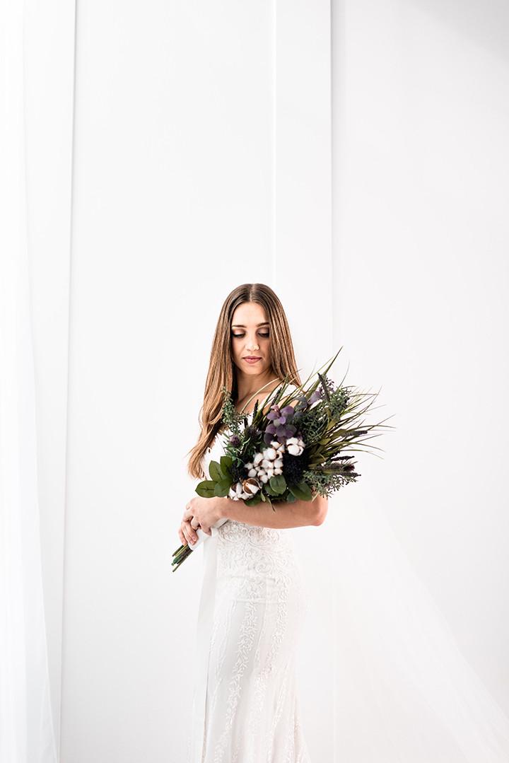 wedding gown is Martin Thornburg Eden Gown