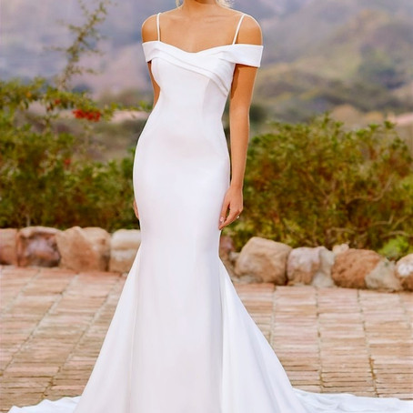 How to choose between two wedding dresses