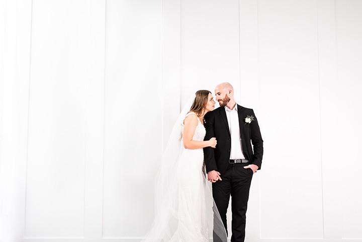 Wedding dress by Martin Thornbury