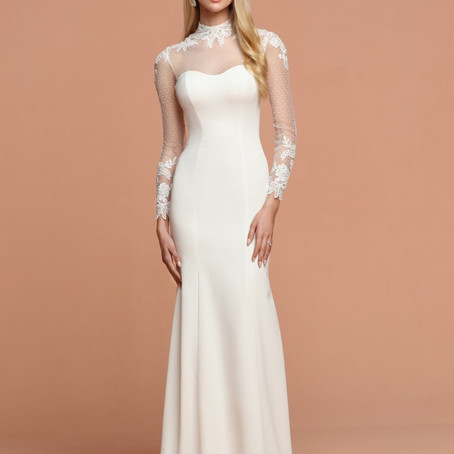 Destination & Beach Wedding Dresses 2020 Long Sleeves – DaVinci Bridal