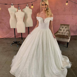 Classic Modern Ballgown With Pockets