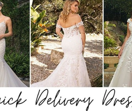 NEED YOUR WEDDING DRESS ASAP? OUR CASABLANCA DESIGNER GOWNS HAS GOT YOU COVERED!