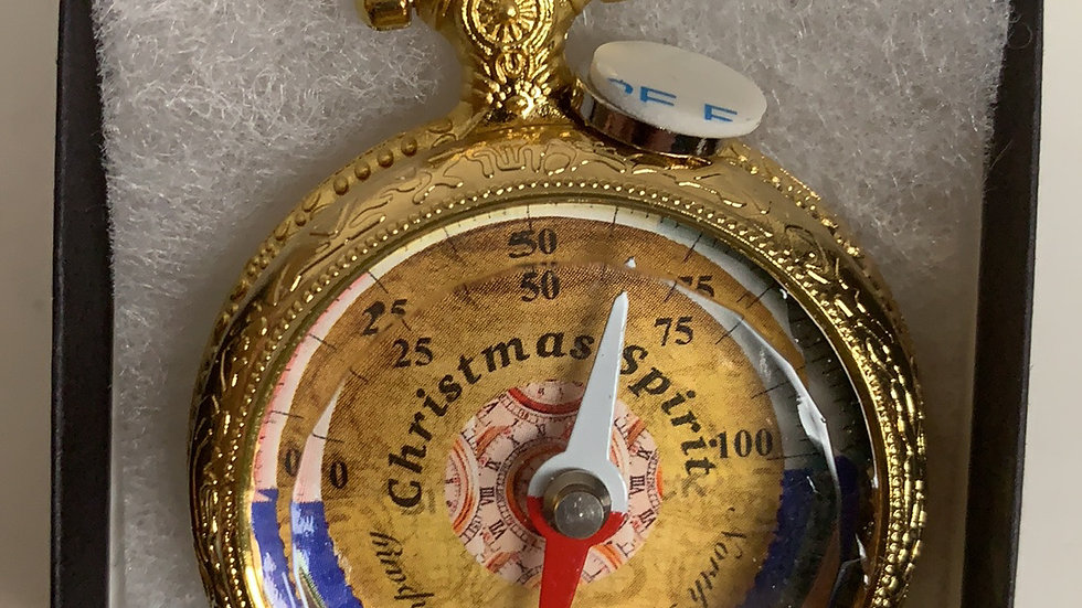 The Christmas Sprit Pocket Watch