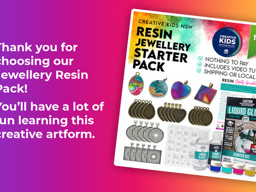 Teen Create Your Own Jewellery With Resin Video Tutorial