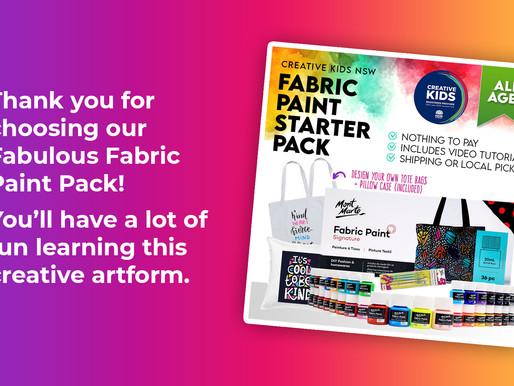 Fabric Paint Tutorial - Creative Kids NSW