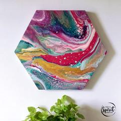 Joyful-Original_Abstract-Pour-Painting-F