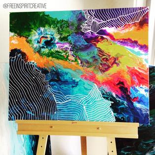 Big_Bang-Original_Abstract-Pour-Painting