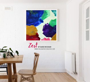Zest-Abstract-Original-Acrylic-Colourful
