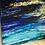 """Thumbnail: """"Ocean Treasure"""" Original Abstract Acrylic Plywood Painting"""