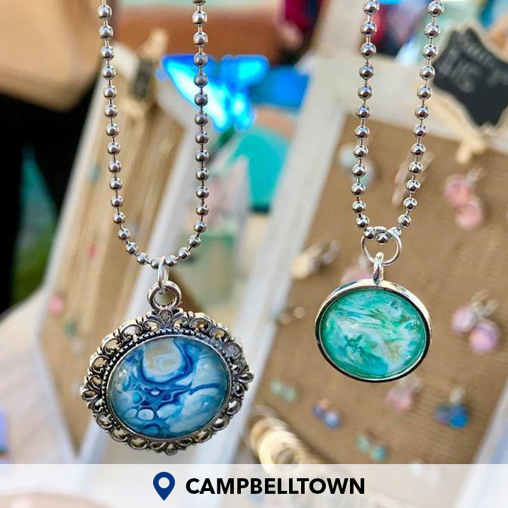Create Your Own Acrylic Pour Jewellery Campbelltown