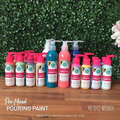 Premixed Paint Pouring Paints - Ready To Pour