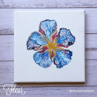 fluer-flowers-original-abstract-pour-pai