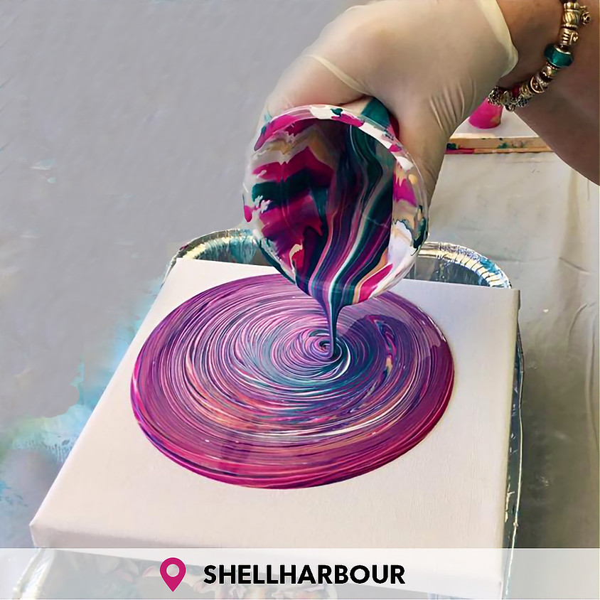 Introduction To Acrylic Pour Painting Shellharbour