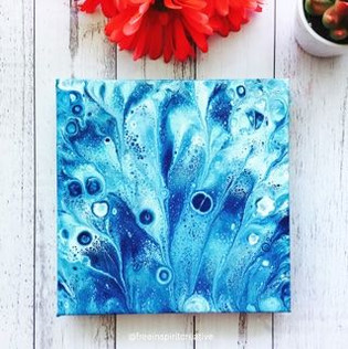 peacock-Original-Abstract-Pour-Painting-