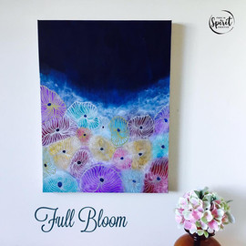 Full-Bloom-Flower-Abstract-Original-Acry
