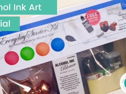 Alcohol Ink Starter Pack Video Tutorial