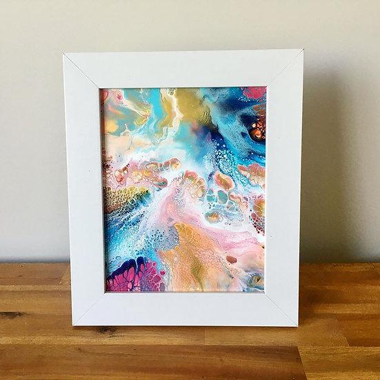 """Annabella"" Original Abstract Acrylic Fluid Canvas Art Painting"