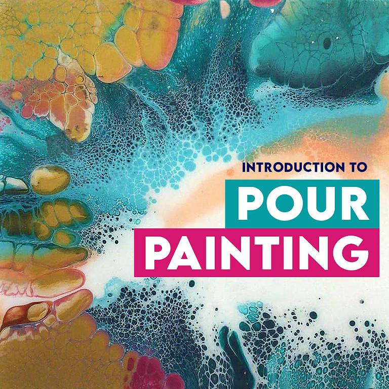 Introduction To Acrylic Pour Painting Albion Park Rail