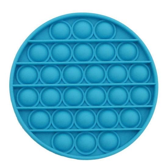 Bubble Pop It Fidget - Blue Round