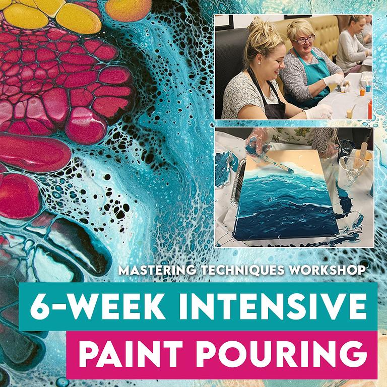 6-Week Intensive Paint Pouring Workshop Albion Park Rail