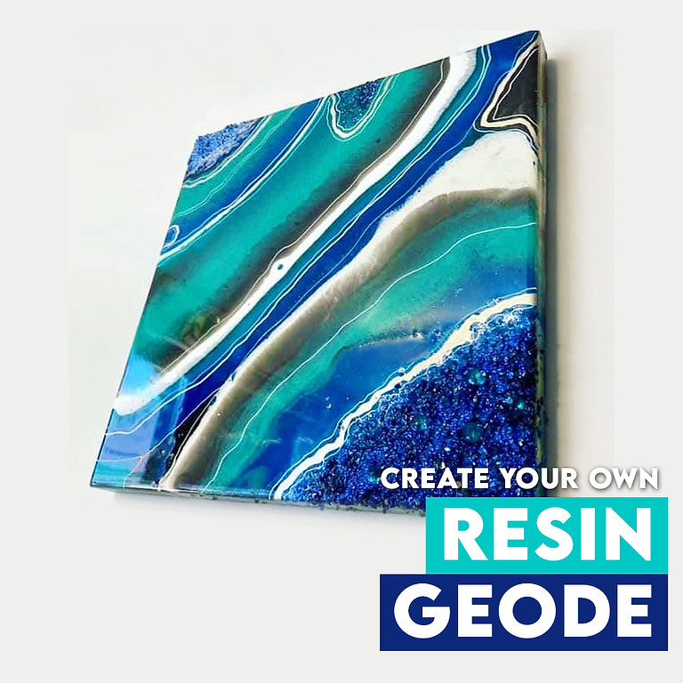 Create Your Own Resin Geode Albion Park Rail