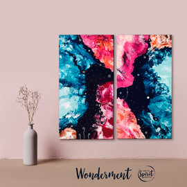 Wonderment-Original_Abstract-Pour-Painti